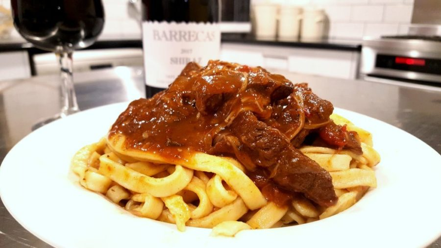Rich, Luscious and Red – Shiraz Beef and Mushroom Ragu