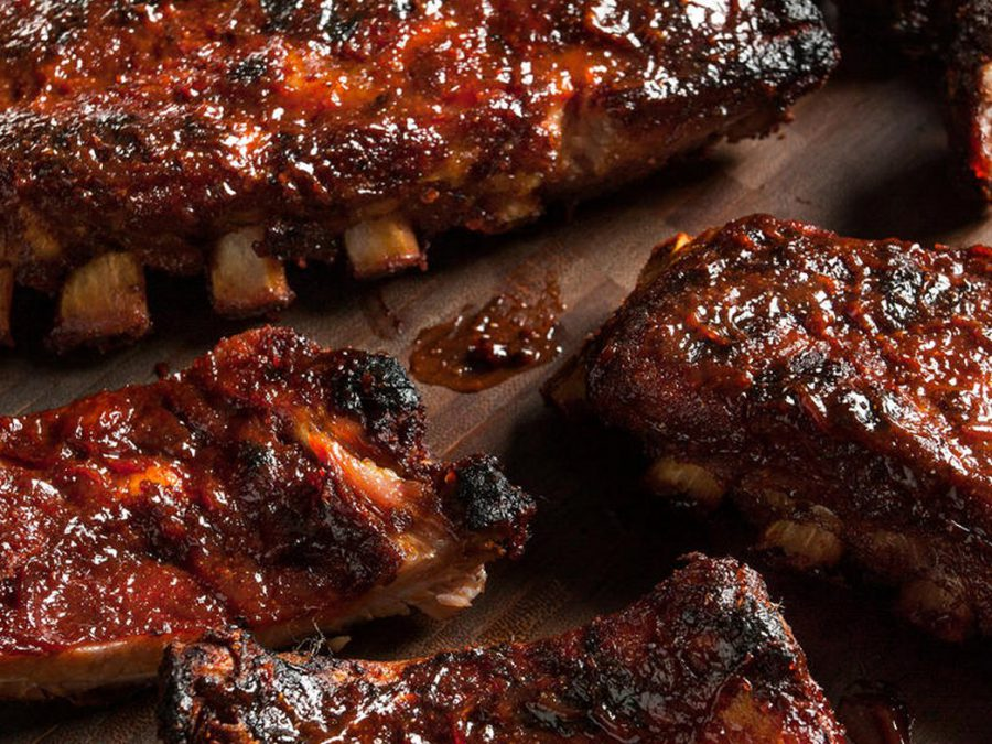 Texan Style Barbequed Pork Spare Ribs