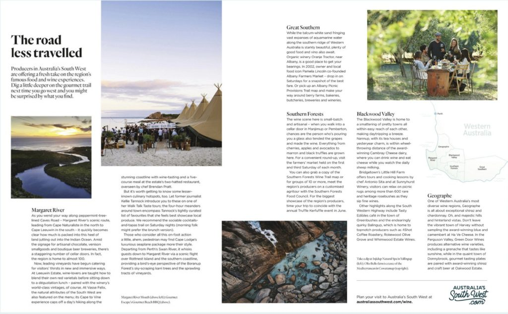 Qantas Inflight Magazine February 2020 pages 108 and 109